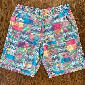 Cape Madras Men's Patchwork Shorts
